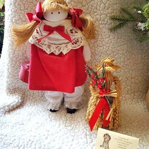 Set of two vintage dolls